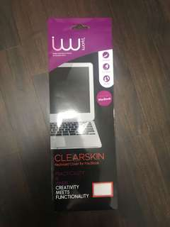 Iworld clearskin keyboard cover