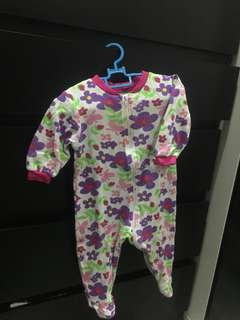 Newborn Girl Sleepsuit