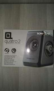 Quatro 2 Speaker black