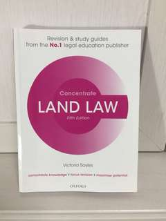 Oxford Land Law