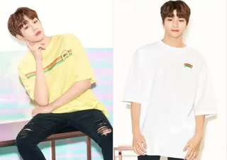 LAP X Wanna One Kang Daniel T-shirt