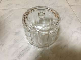 crystal like plastic container