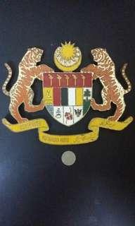 Jata Negara/badge/vintage(tembaga)