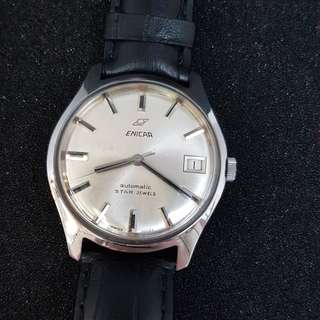 Enicar 144/39/15 Automatic Vintage Watch