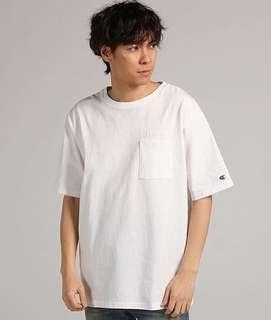 Champion Oversides T shirt Pocket Tosca/pitch/white Original