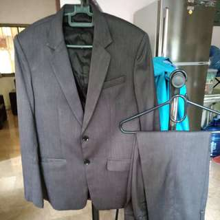 Dark Grey Suit and Slacks