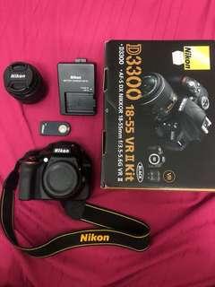 Nikon D3300 98%New Rarely Use