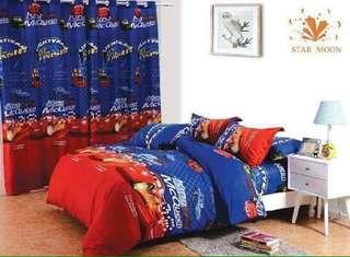 Us cotton bedsheet ,curtains, pillow sheet