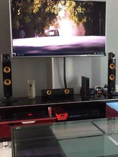 LG 5.1 Home Theater Speakers and Woofer Only