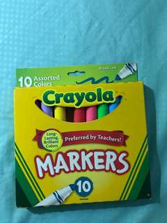 🚚 Crayola assorted Colour markers