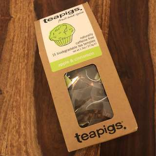 Tea pigs caffeine free apple & cinnamon tea 無咖啡因蘋果肉桂茶包