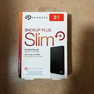 🚚 2TB Seagate Backup Plus HDD Portable