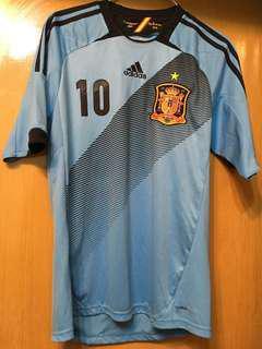 Adidas 西班牙Spain 2012/3作客球衣(連印字)