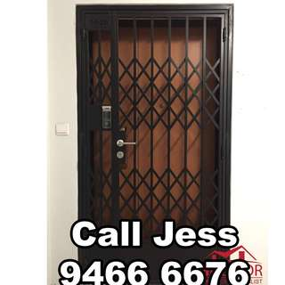 HDDoor the gate with install