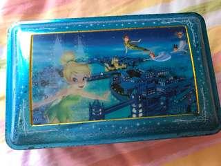 Disney Tinkerbell 小仙子鐵盒