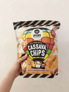 Irvin Salted Egg, Cassava Chips