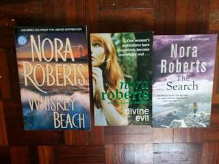 Nora Roberts pre-loved novels