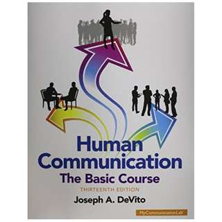 Human Communication: The Basic Course 13th Edition