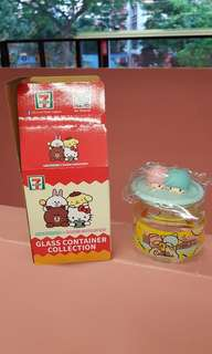 🚚 My little twin star sanrio container 711 7-11