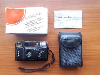 Kamera Analog Lucky/Cannon Mate Novacam I (Warna Hitam)