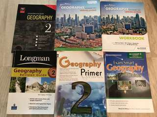 Secondary 2 geography books