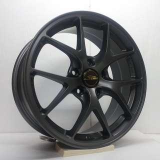 17吋鋁圈 5孔114 台製品質穩定 繽紛造型設計 四款現貨任挑 搭配215/45/17國產輪胎 高CP完工價