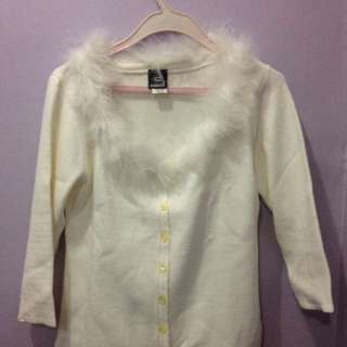 Cream cardigan -Moving out sale