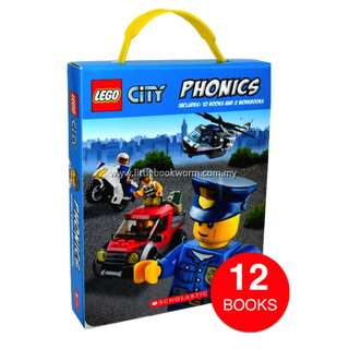 LEGO CITY PHONICS COLLECTION (12 BOOKS)