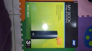 WD MyBook External 3 TB HDD