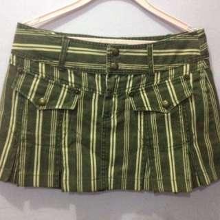 Striped vintage skirt