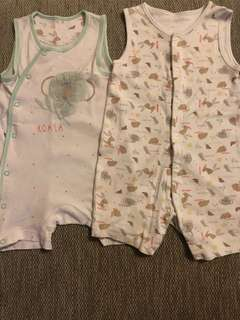 Mothercare Set Rompers