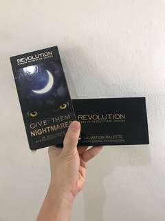 "MakeUp Revolution ""Give Them Nightmares"" Eyeshadow palette"