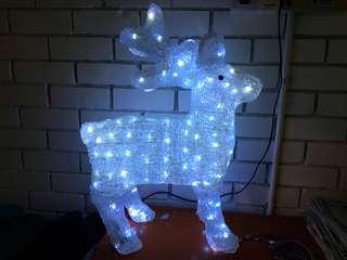 Christmas Lighted Reindeer Decoration