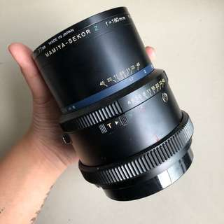 Mamiya Sekor Z 180mm f4.5 lens