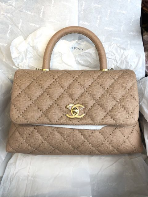 06085c9aaf4a 18S Chanel coco handle, Luxury, Bags & Wallets, Handbags on Carousell