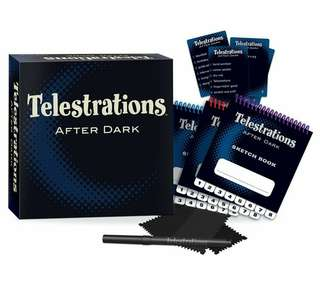 🆕 Telestrations After Dark Board Game