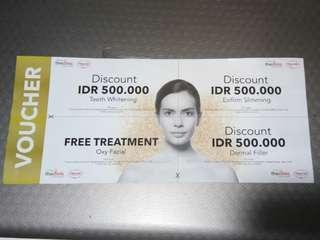Voucher the clinic (free ongkir)