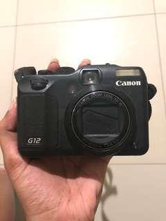 Kamera Canon G12 powershot