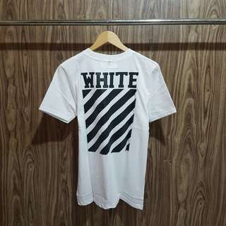 Kaos Off White Premium