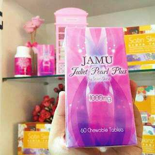Satin Skinz Jamu Juliet Pearl Plus - 60 Chewable Tablets