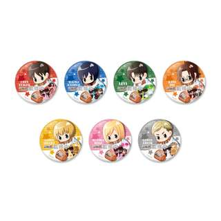 "[PO] ""Attack on Titan"" Trading Can Badge"