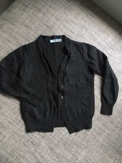 PRADA Black Cropped Cardigan
