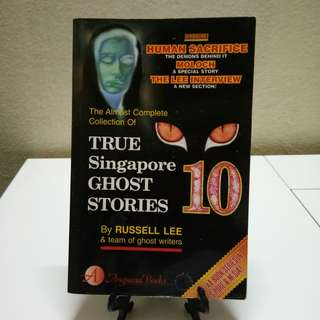 Novel - True Singapore Ghost Stories #4 by Russell Lee