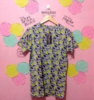 Pull & Bear Dinosaur Print Shirt