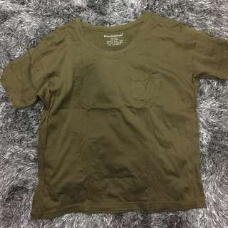 Bleach Catastrophe Olive Green Top