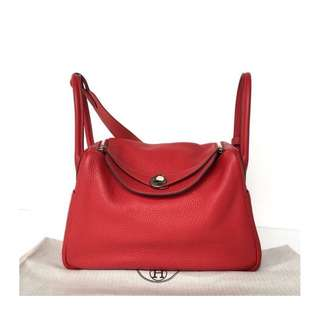 Authentic Hermes Lindy 30