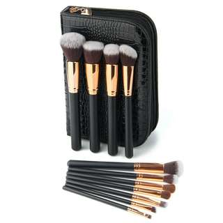Brush set lengkap + Pouch high quality