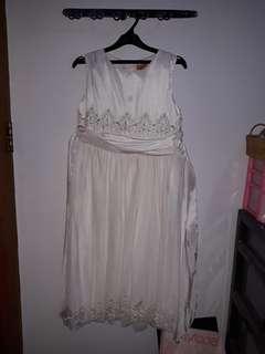BAJU PESTA ANAK PUTIH / WHITE PARTY DRESS