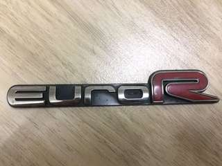Emblem euro R / ori