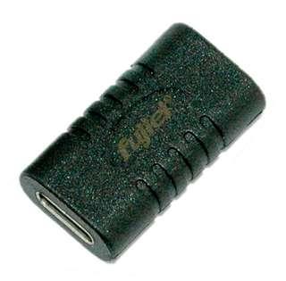 type-c母 / type-c母鍍鎳轉換頭 USB3.1 Type-C(母)to Type-C(母)轉接頭